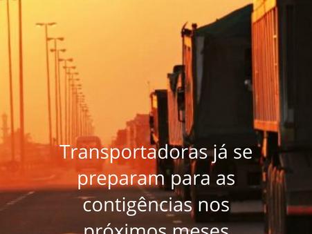 Corona Vírus agravará a Crise, no setor de Transporte Terrestre.