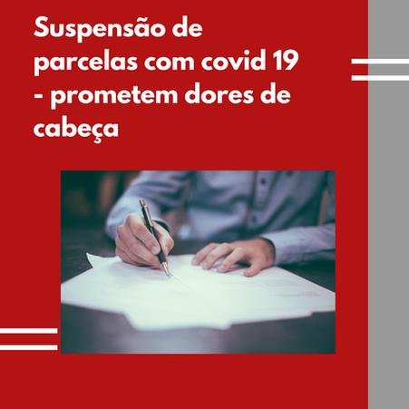 Banco indenizará cliente por suspender 03 parcelas e não as 06 combinadas e informadas - Pandemia.