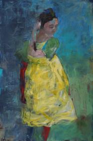 The Girl in the Yellow Dress II