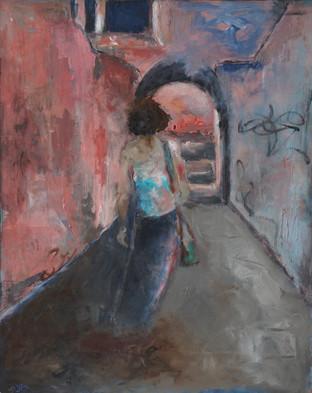 As She's Walking Away