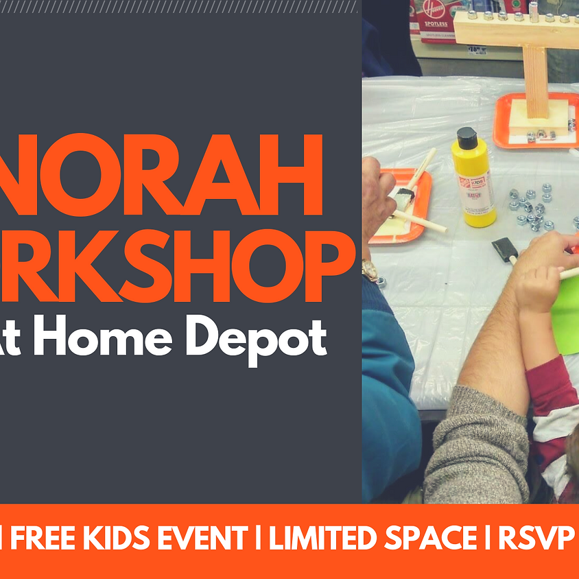 Annual Menorah Workshop