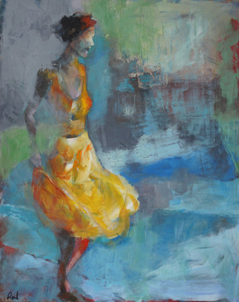 The Girl in the Yellow Dress
