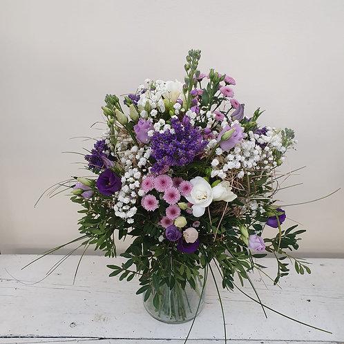 Lila Träume-Blumenstrauß