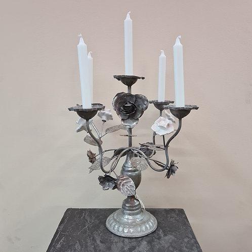 Kerzenständer Silberblume 5-armig