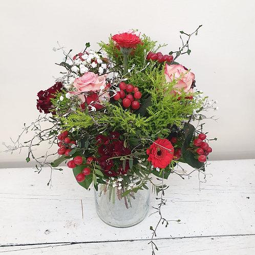 Der rote Bote - Blumenstrauß