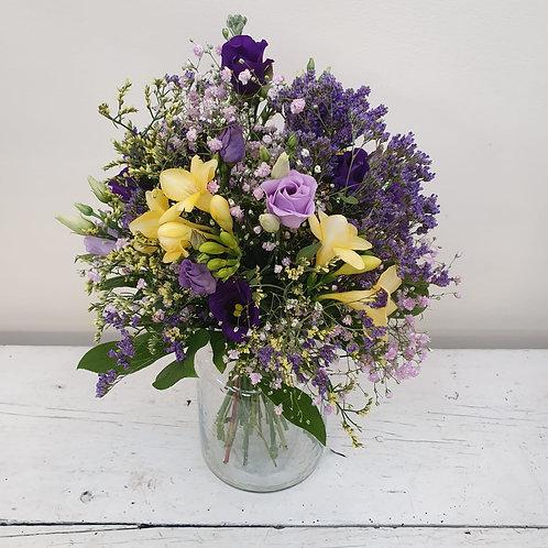 Bunte Blütenwolke - Blumenstrauß