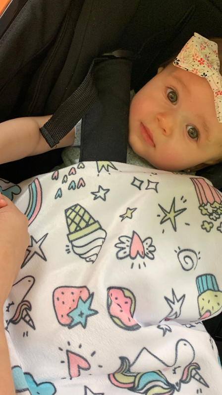 Primer año de mi hija en fotos | Sophia Rose M Sánchez