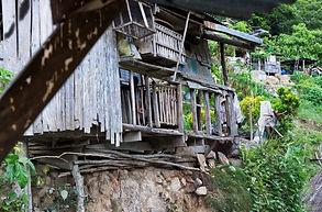 Maison à Batad