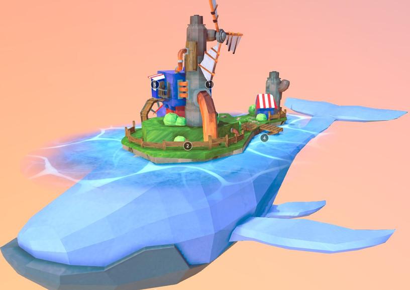 Island Whale