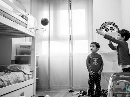 Sesión documental a domicilio: una mañana en familia