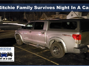 Ritchie Family Survives A Night In A Car