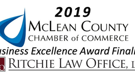 We're a Business Excellence Award Finalist with The Chamber of Commerce!