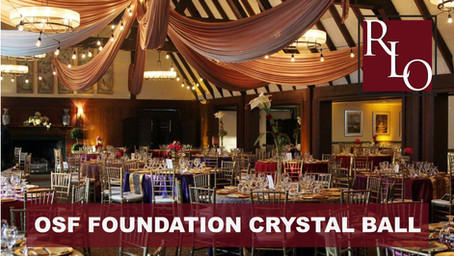 Chad & Kara Ritchie Attend the OSF Foundation Crystal Ball