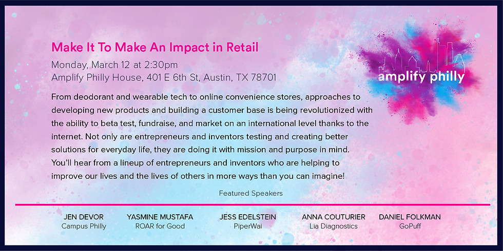 Make It To Make An Impact in Retail