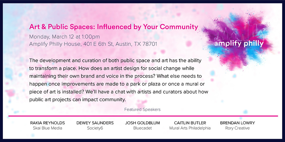 Art & Public Spaces: Influenced by Your Community