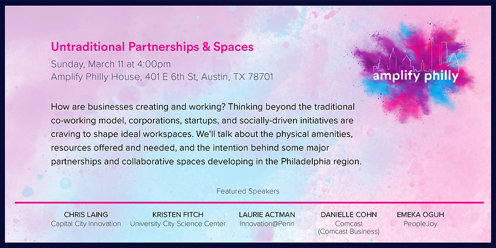 Untraditional Partnerships & Spaces