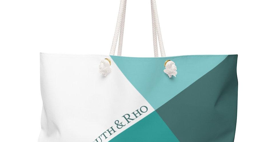 Seafoam Green Weekender Bag Tilt