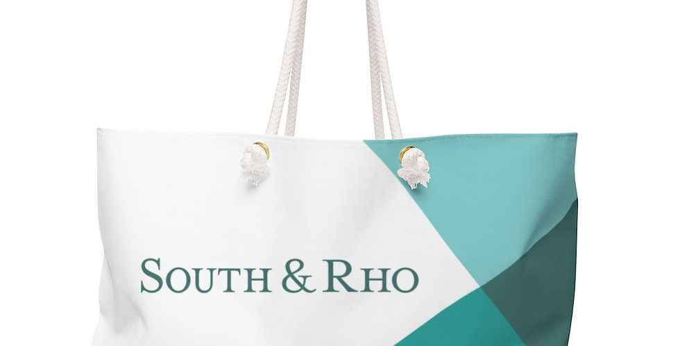 Seafoam Green Weekender Bag