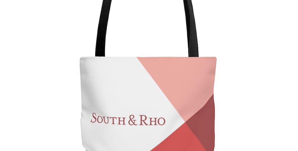 Sunset Peach Tote Bag