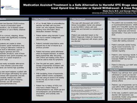 Medication Assisted Therapy is a Safe Alternative to Harmful OTC Drugs used to treat Opioid Use...
