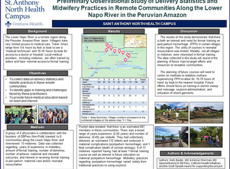 Preliminary Observational Study of Delivery Statistics and Midwifery Practices in Remote Communities