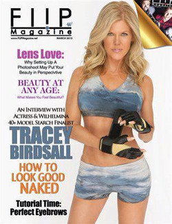 Tracey Birdsall on the Cover