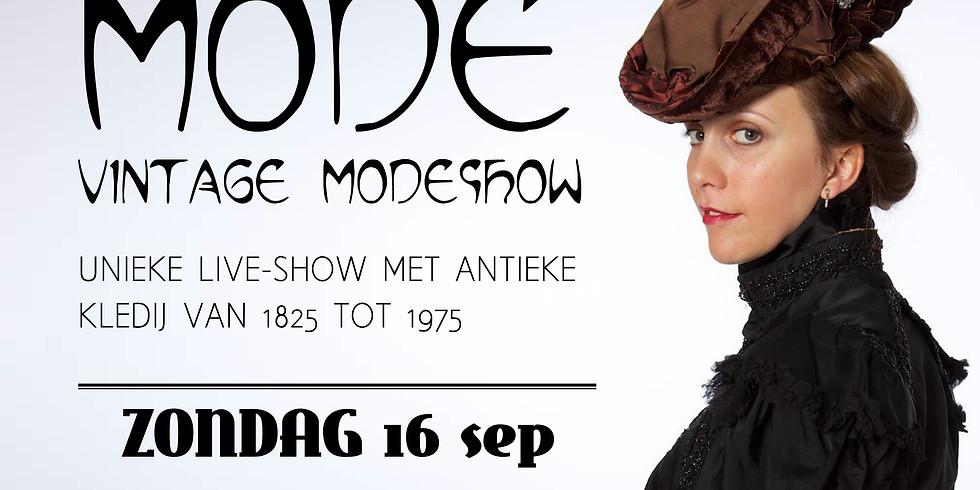 VINTAGE MODESHOW - ZONDAG 16/09 (< 21 JAAR)