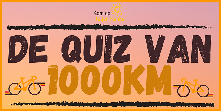 KOTK - De Quiz van 1000km - EVENT BANNER