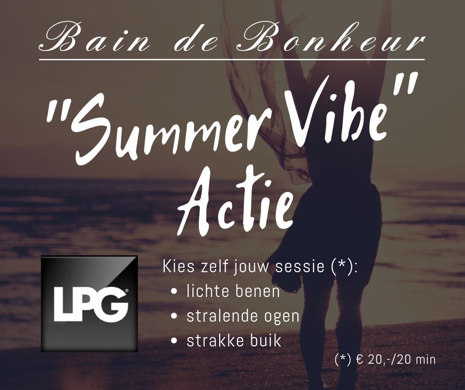 Bain de Bonheur - Lente-actie