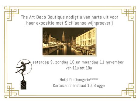 ART DECO EXPO & SICILIAANSE WIJNEN