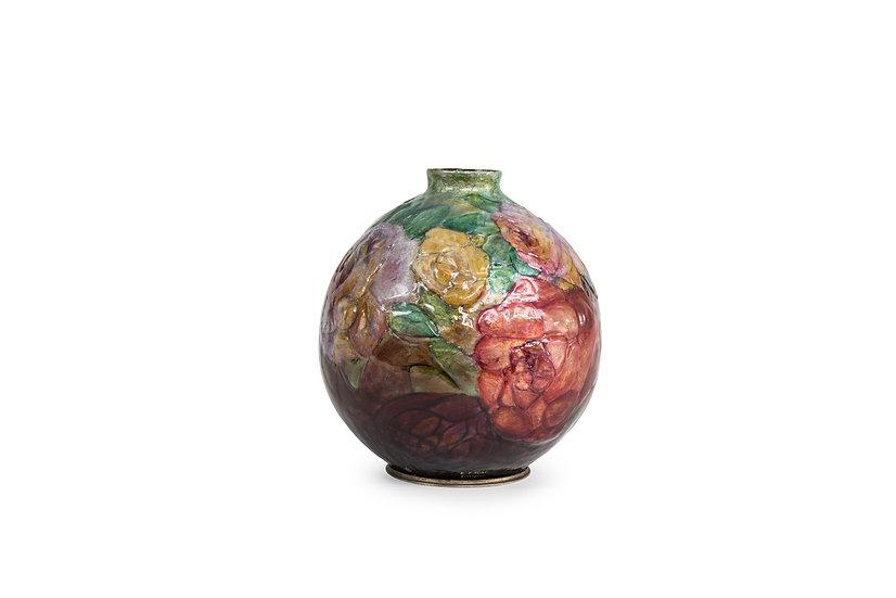 1172 CAMILLE FAURE - Vase Boule