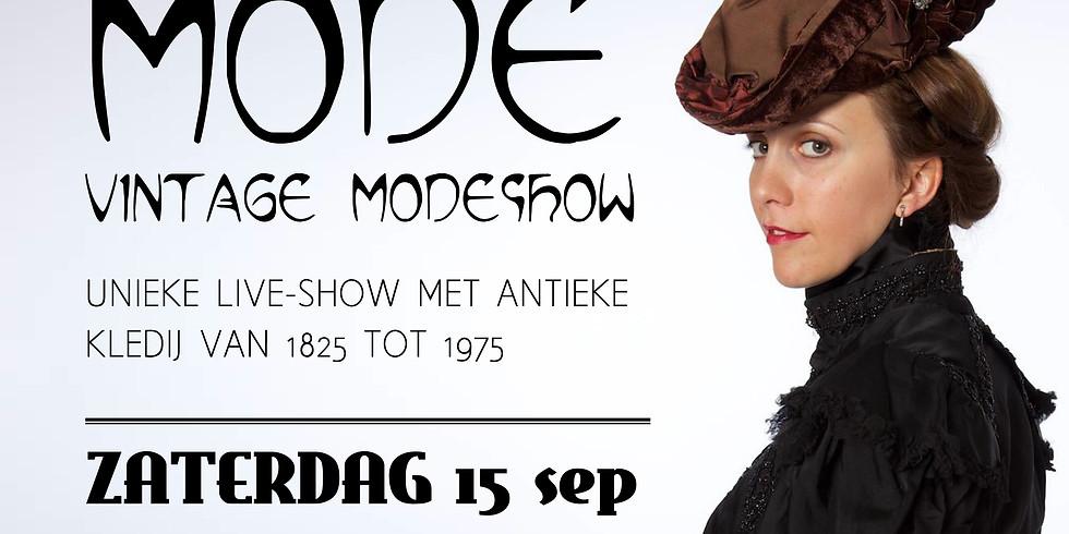 VINTAGE MODESHOW - ZATERDAG 15/09 (< 21 JAAR)