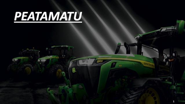 Wihuri Agri John Deere PEATAMATU traktorite seeria esmaesitlus-otseülekanne
