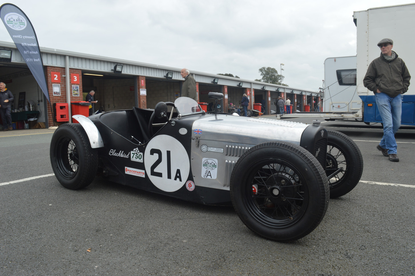Supercharged Austin 7 Special (Blackbird) - Alistair Frayling-Cork