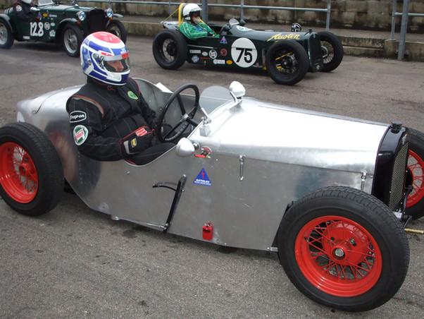 Austin 7 Ulster race car - Paul Lawrence