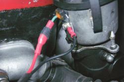 condenser connection to dist