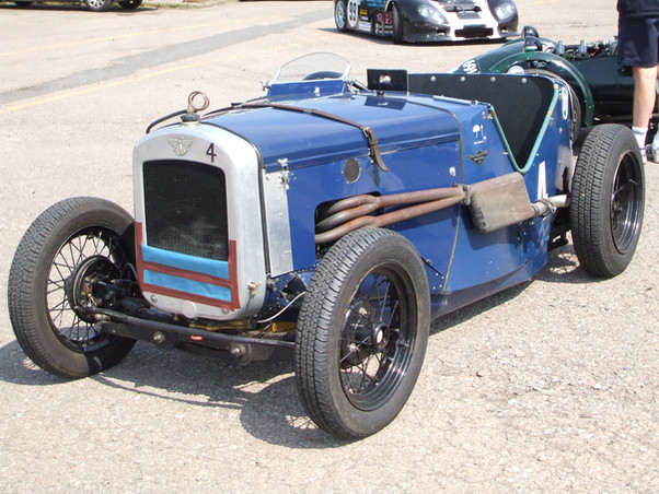 Supercharged Austin 7 Ulster - John Skeavington