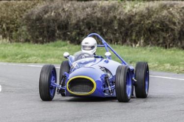 Austin 7 racing ANCO - Roger Rowe