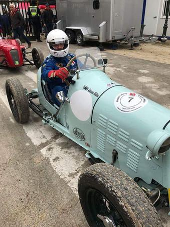 Austin 7 single seater - James Miles
