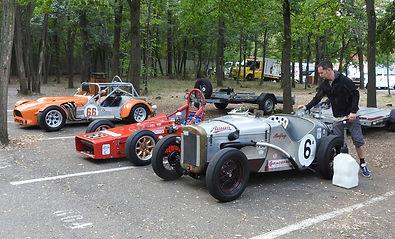 Austin 7 Badfrog - Historic 750 Formula Test Day - Richard Verheydeh