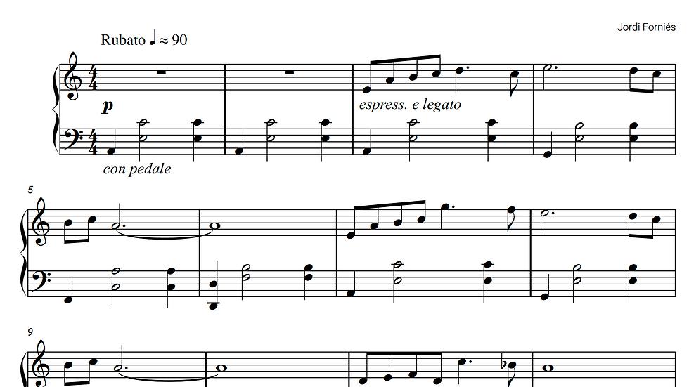 Quiet Streams - Piano Solo - Jordi Forniés