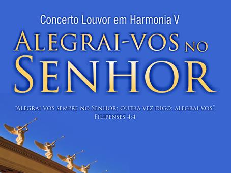 Concerto Louvor em Harmonia   Alegrai-vos no Senhor