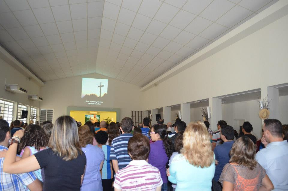 Grande coral da Igreja Batista Manancial de Fortaleza Ceará