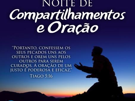 Noite de oração dos Jovens
