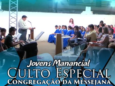 Jovens na Congregação da Messejana.