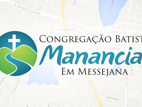 Culto de ação de graças na Congregação da Messejana