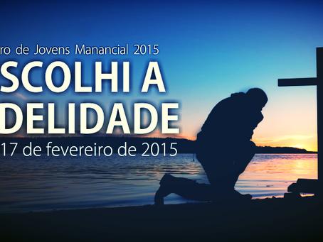 Retiro de Jovens Manancial 2015