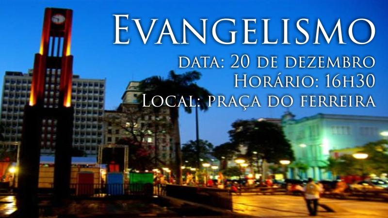 artigo evangelismo Natal 2014 - Igreja Batista Manancial - Igreja Batista em For