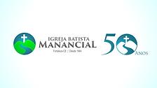 Nova marca da Igreja Batista Manancial em comemoração aos seus 50 anos de fundação.