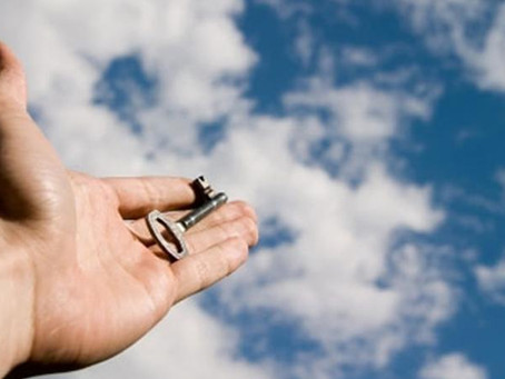 Chaves que abrem a porta do céu